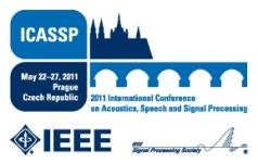 ICASSP 2011, Prague