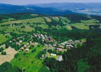 Chata marianská - letecký pohled