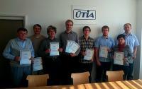 Výherci soutěže o nejlepší publikaci ÚTIA v roce 2015.