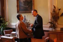 Bernard Bolzano 2003 medal to Rudolf Hanka