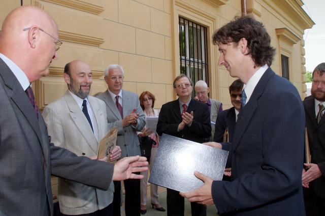 Wichterleho cena 2008 - Filip Šroubek