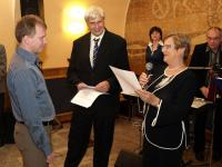 Radek Hofman was awarded by the Czech Radiation Protection Society's Award