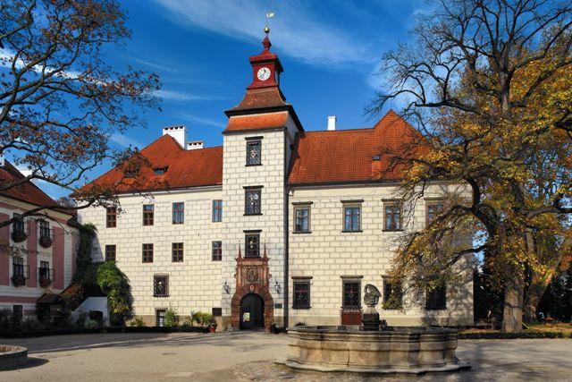 Třeboň zámek